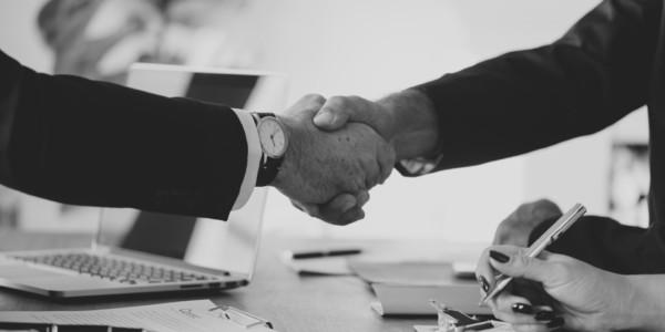 handshake greyscale 600x300 - Partners